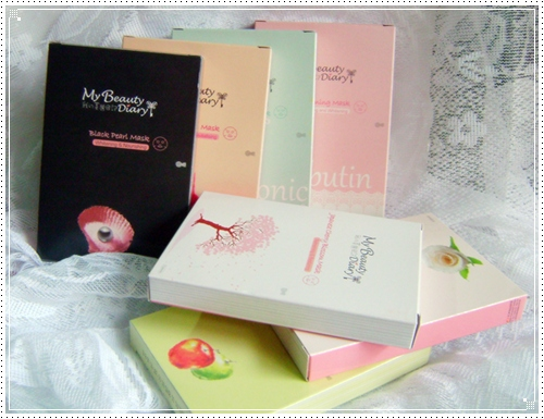มาส์กหน้าขายดีอันดับ 1 จากไต้หวันและฮ่องกง My Beauty Diary (1/6)